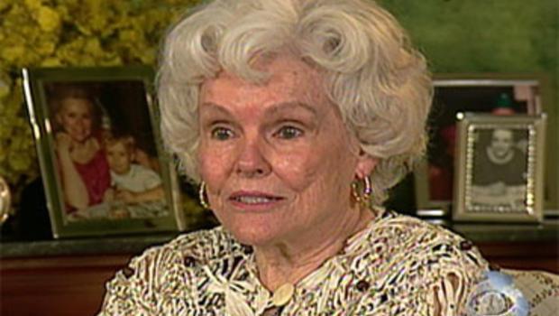 "Doris Buffett, sister of the legendary investor Warren Buffett, is seen during this ""American Spirit"" segment on the Dec. 4, 2009, broadcast of the ""Evening News."""