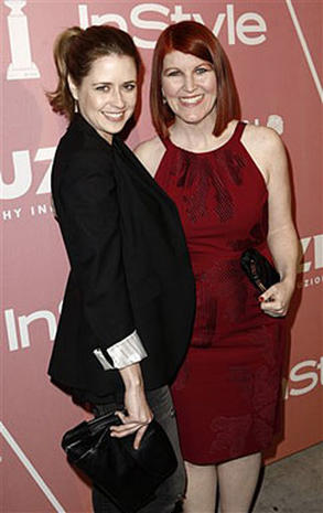 f3512e92604e0 Jenna Fischer at Young Hollywood Party - Celebrity Circuit - Pictures - CBS  News