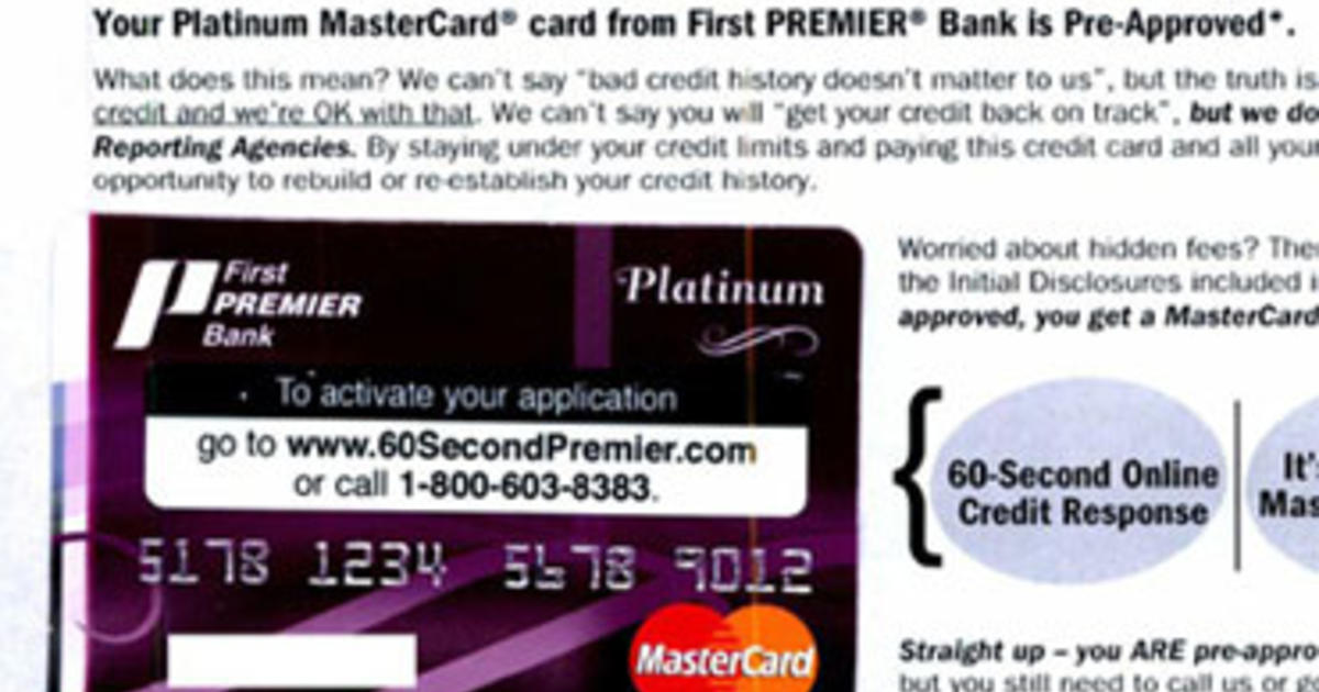 Bank Offers Credit Card With 79 9 Apr Cbs News