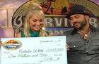 Natalie White and Russell Hantz on The Early Show.