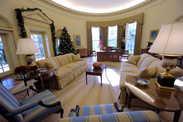 Obama's Oval Office