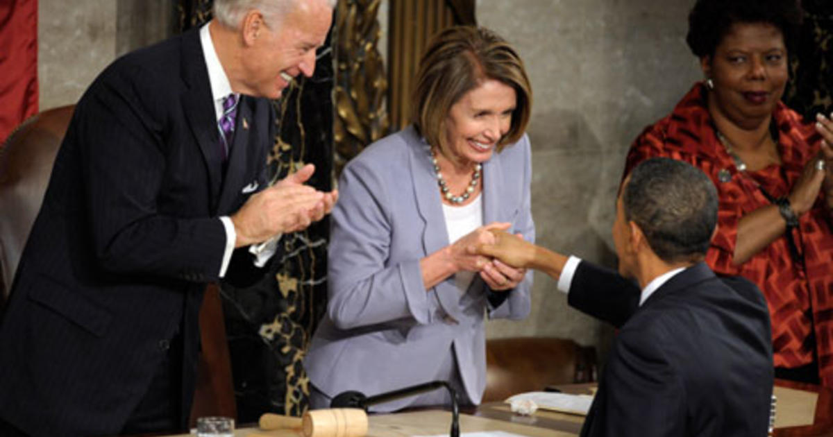 Biden and Pelosi at State of the Union Address 2010 8x10 Photo L-115 Obama