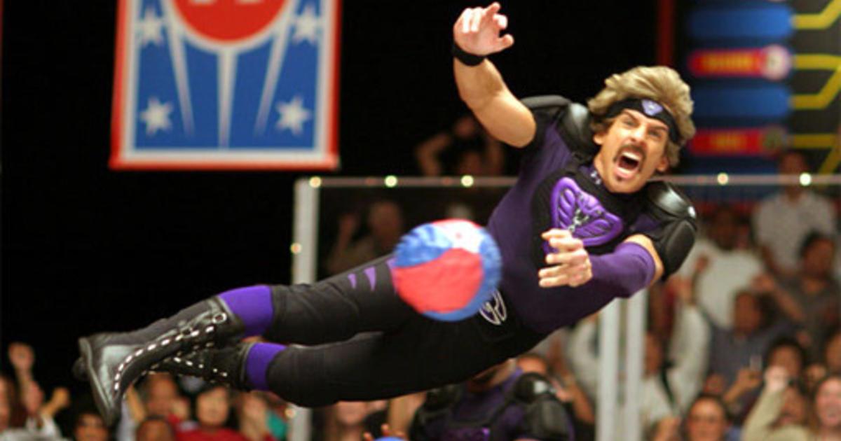 ben stiller reunites dodgeball cast  charity cbs news