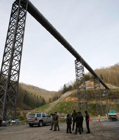 West Virginia coal mine explosion