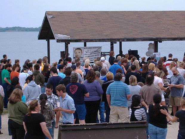 Hundreds Gather at Vigil for Wylie's Angel