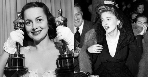 New centenarian olivia de havilland opens up on sibling for Joan fontaine and olivia de havilland feud