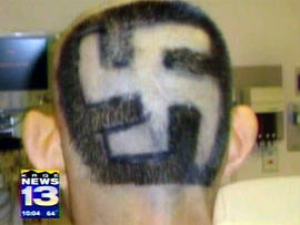 swastika, hate crime, branding
