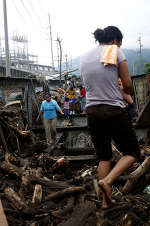 Sinkhole in Guatemala
