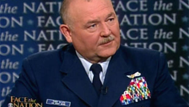 "U.S. Coast Guard Admiral Thad Allen on ""Face the Nation,"" June 13, 2010."