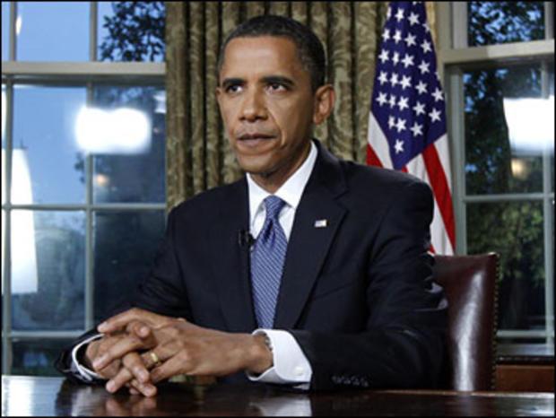 obama oval office speech