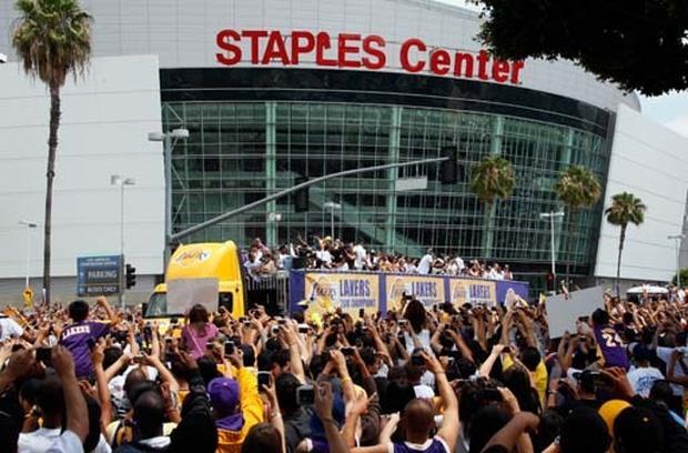 2010 Lakers' Parade