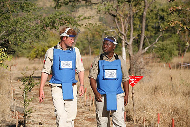 Prince Harry in Mozambique