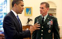 General McChrystal and President Obama