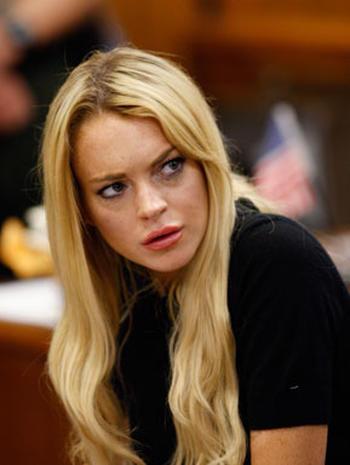 Jail Time for Lindsay Lohan