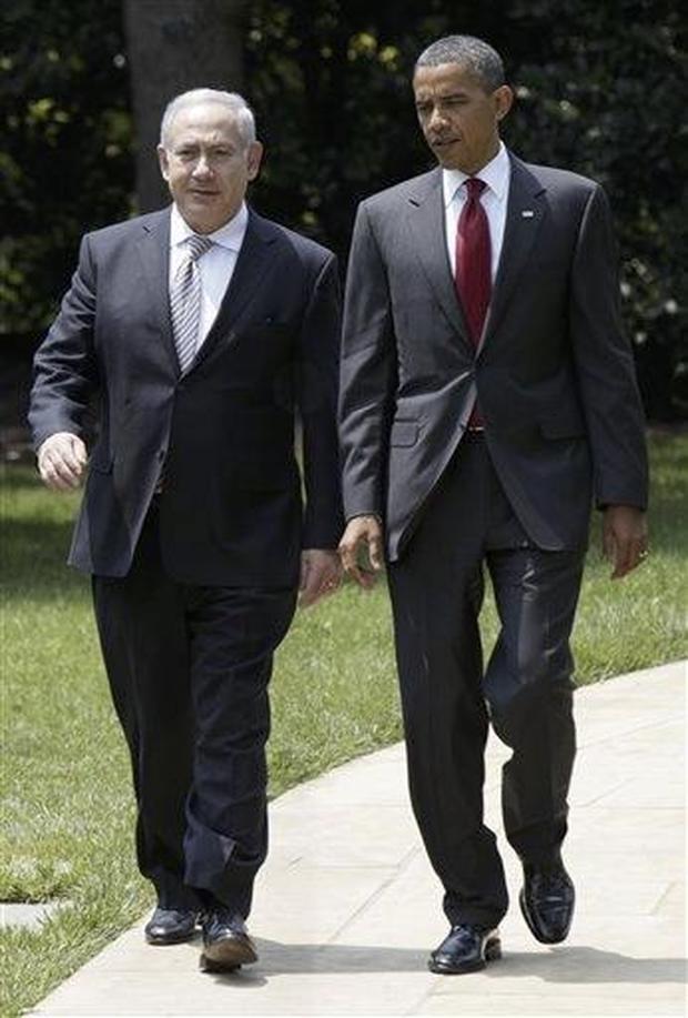 Benjamin Netanyahu, Barack Obama