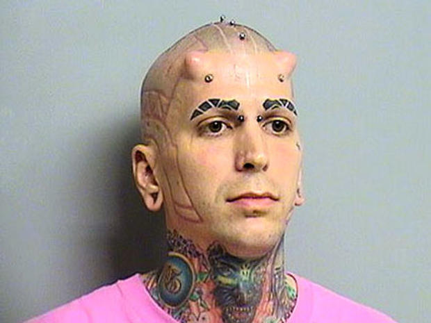 Horned Man Jesse Thornhill Arrested for Allegedly Trying to Run Over Landlord