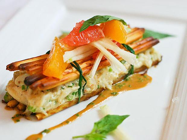 David Burke's Calorie Curbing Crab Cakes