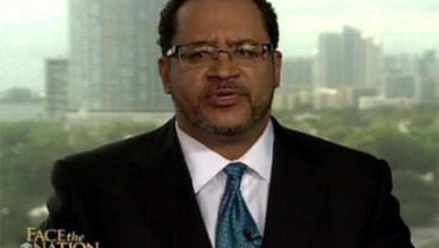 Michael Eric Dyson told Face the Nation that the far-right is addicted to a kind of paranoia about race, as in the case over Shirley Sherrod.