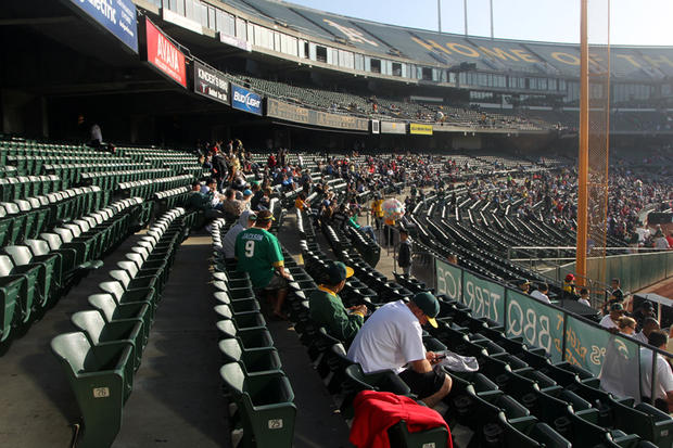 Ballpark Roadtrip:Oakland Coliseum