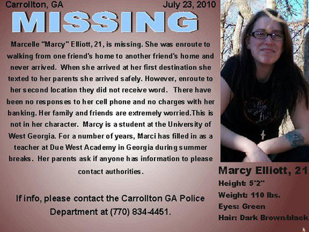 "Marcelle ""Marci"" Elliot Missing"