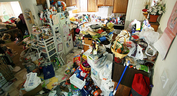 A hoarding hell from TLC series Hoarding: Buried Alive.