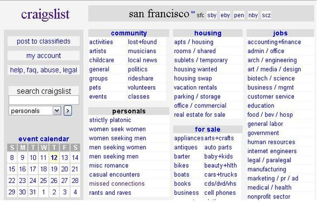 5 Craigslist crimes that will creep you out - Photo 1