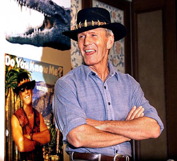 """Paul Hogan, Star of """"Crocodile Dundee,"""" Kept in Australia for Unpaid Taxes"""