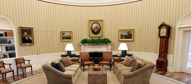 Obama's Oval Office Gets a Makeover - CBS News