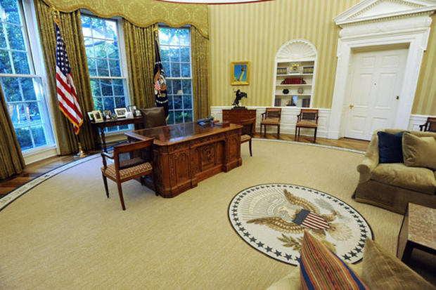 The New Oval Office Photo 1 Pictures Cbs News