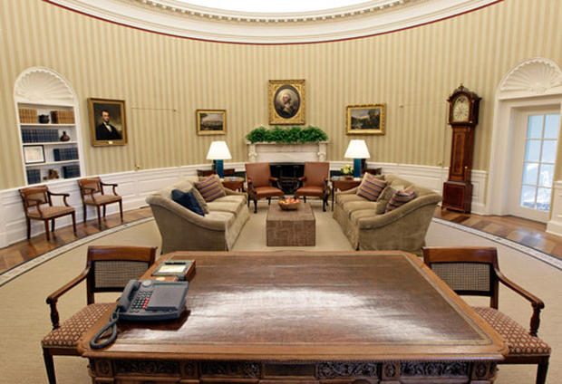 The New Oval Office Photo 4 Pictures Cbs News