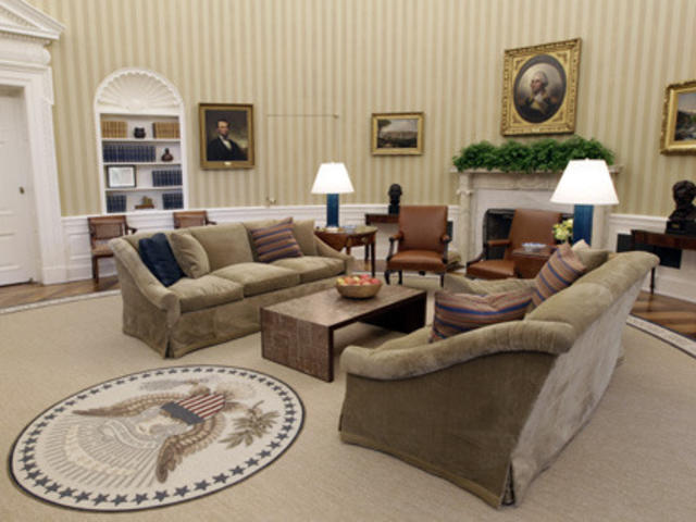 S Oval Office Gets A Makeover
