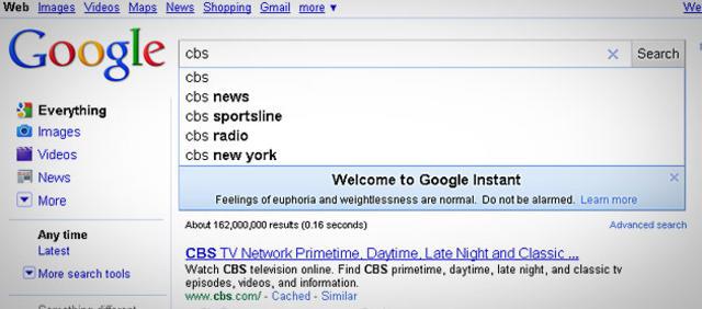 foto de Mystery of Google Doodles Answered: 'Google Instant' - CBS News