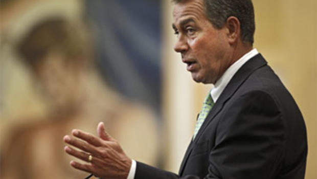 House Minority Leader John Boehner (R-Ohio) speaks on jobs and the economy at the City Club of Cleveland, Tuesday, Aug. 24, 2010.