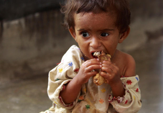 Hungry Children in Pakistan