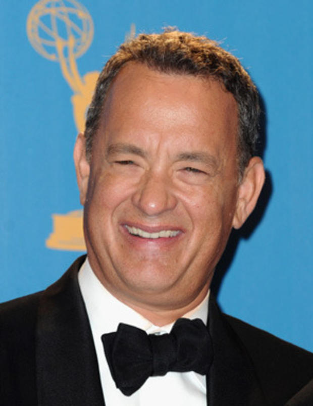 "Appearing eight times, actor Tom Hanks often spoofed himself and his own films while guest hosting on ""Saturday Night Live."" During his many guest appearances, the Oscar-winner was inducted in the ""SNL"" Five-Timers Club, starred in skits like ""Mr. Short Term Memory"" and was often seen competing on the ""Celebrity Jeopardy"" sketch."