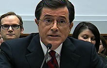 Stephen Colbert Takes on the House