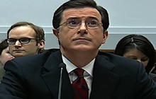 Stephen Colbert Asked To Leave Hearing