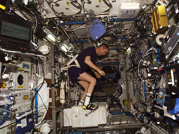 Abs in Space: NASA's Weightless Workout