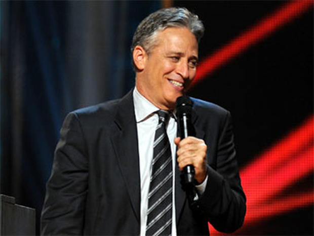Jon Stewart is seen onstage at Comedy Central's Night Of Too Many Stars: An Overbooked Concert For Autism Education at the Beacon Theatre on October 2, 2010 in New York City. (Photo by Jason Kempin/Getty Images)
