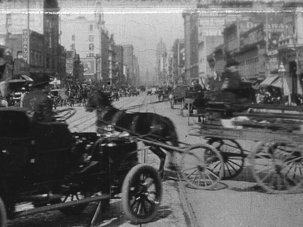 Capturing Market Street, 1906