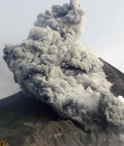 Indonesia Volcano Erupts