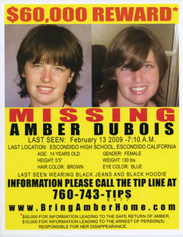 The search for Amber Dubois