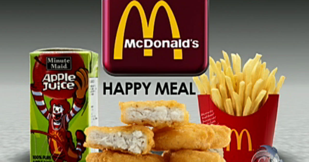 Happy Meal Ads Target Kids Videos Cbs News