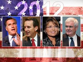 2012, Romney, Palin, Pawlenty, Gingrich