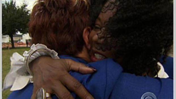 Pam Foreman Testroet and Ruby Bridges