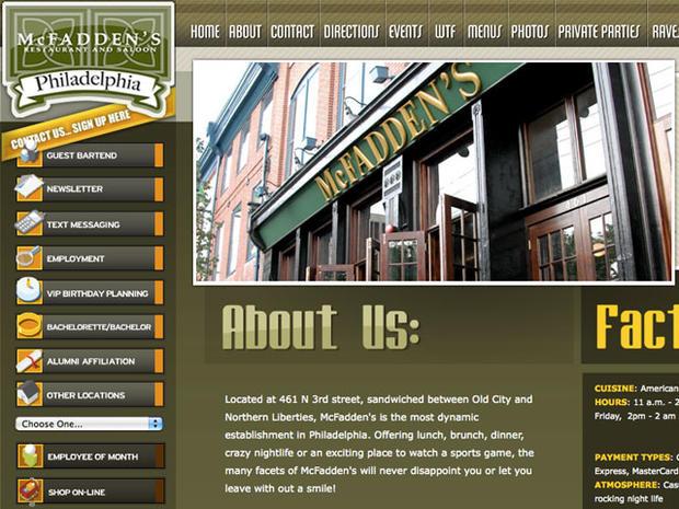 McFadden's Bartender Alleges Racism at Phila. Restaurant