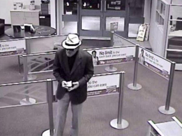 """Geezer Bandit"" Tied to 12th Calif. Bank Robbery"