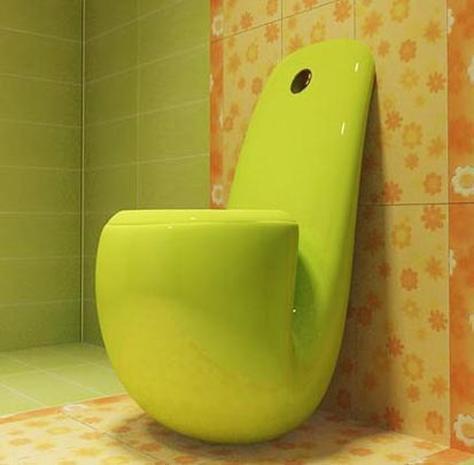 World's craziest toilet bowls