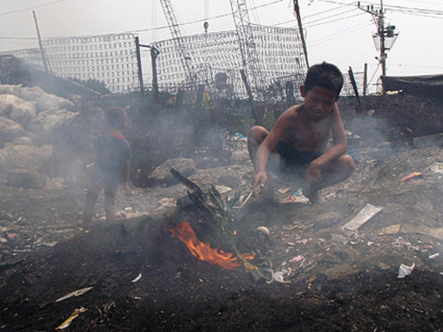 Awesome Living Off Toxic Trash In The Philippines Cbs News Wiring Database Gramgelartorg