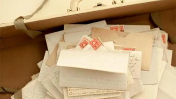 Ted Gup's 80 year-old mother handed him a suitcase filled with letters dated the same week in December 1933, all addressed to someone named Mr. B. Virdot. The mysterious benefcator replied to the letters with checks.